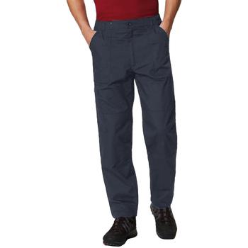 vaatteet Miehet Reisitaskuhousut Regatta TRJ331L Navy Blue