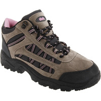 kengät Naiset Vaelluskengät Dek Grassmere Grey/Pink