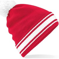 Asusteet / tarvikkeet Miehet Pipot Beechfield B472 Classic Red/White