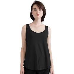 vaatteet Naiset Hihattomat paidat / Hihattomat t-paidat Mantis M92 Black