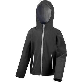 vaatteet Lapset Fleecet Result R224JY Black/Grey
