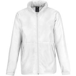 vaatteet Miehet Fleecet B And C JM825 White/ White