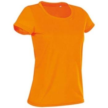 vaatteet Naiset Lyhythihainen t-paita Stedman Cotton Touch Cyber Orange