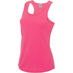 vaatteet Naiset Hihattomat paidat / Hihattomat t-paidat Awdis JC015 Electric Pink