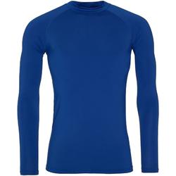 vaatteet Miehet T-paidat pitkillä hihoilla Awdis JC018 Royal Blue