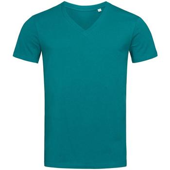 vaatteet Miehet Lyhythihainen t-paita Stedman Stars  Pacific Blue