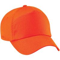 Asusteet / tarvikkeet Lippalakit Beechfield B10 Orange