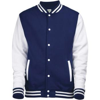 vaatteet Miehet Pusakka Awdis JH043 Oxford Navy / White