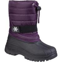 kengät Lapset Talvisaappaat Cotswold Icicle Purple