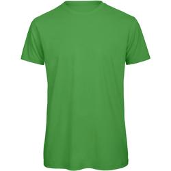 vaatteet Miehet Lyhythihainen t-paita B And C TM042 Real Green