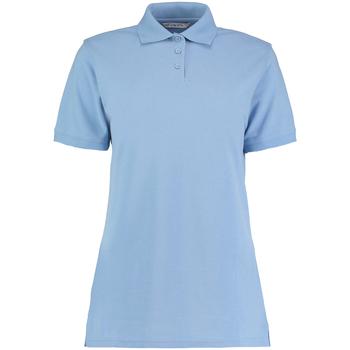 vaatteet Naiset Lyhythihainen poolopaita Kustom Kit Klassic Light Blue