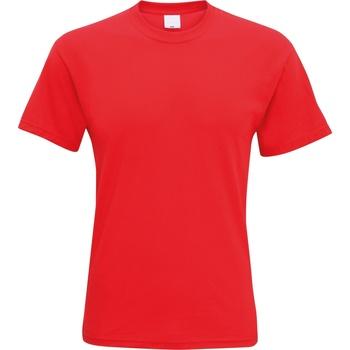vaatteet Miehet Lyhythihainen t-paita Universal Textiles 61082 Bright Red