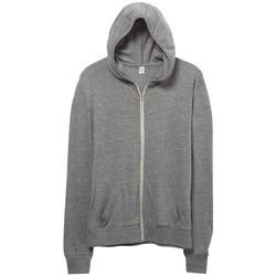vaatteet Miehet Svetari Alternative Apparel AT002 Eco Grey