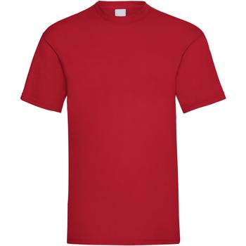vaatteet Miehet Lyhythihainen t-paita Universal Textiles 61036 Dark Red