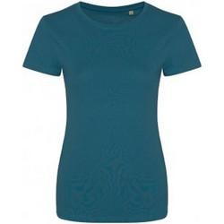 vaatteet Naiset Lyhythihainen t-paita Ecologie EA01F Ink Blue