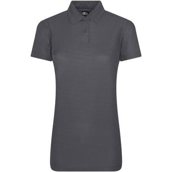vaatteet Naiset Lyhythihainen poolopaita Pro Rtx RX05F Solid Grey