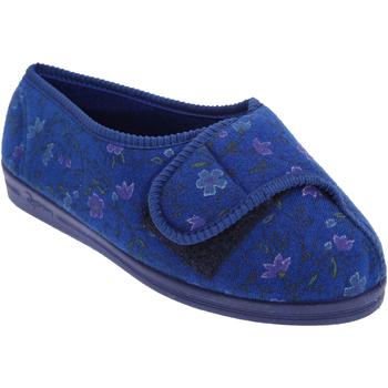 kengät Naiset Tossut Comfylux  Navy Blue