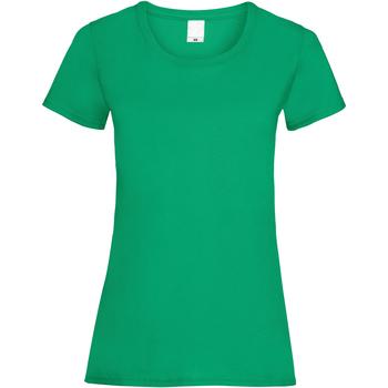 vaatteet Naiset Lyhythihainen t-paita Universal Textiles 61372 Green