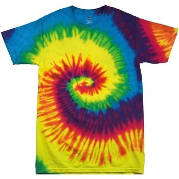 vaatteet Lapset Lyhythihainen t-paita Colortone TD02B Rainbow
