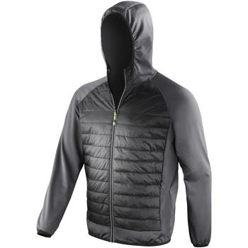 vaatteet Miehet Tuulitakit Spiro  Black/Charcoal