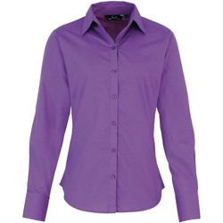 vaatteet Naiset Paitapusero / Kauluspaita Premier PR300 Rich Violet