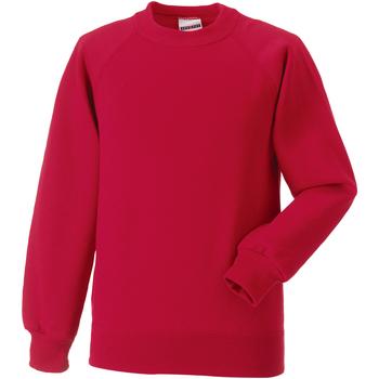 vaatteet Lapset Svetari Jerzees Schoolgear 7620B Classic Red
