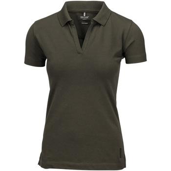vaatteet Naiset Lyhythihainen poolopaita Nimbus Harvard Olive