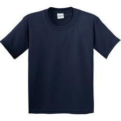 vaatteet Lapset Lyhythihainen t-paita Gildan 5000B Navy