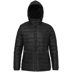 vaatteet Naiset Toppatakki 2786 TS16F Black/Black