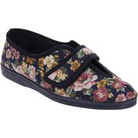 kengät Naiset Tossut Sleepers  Navy Blue