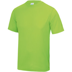 vaatteet Miehet Lyhythihainen t-paita Awdis JC001 Electric Green