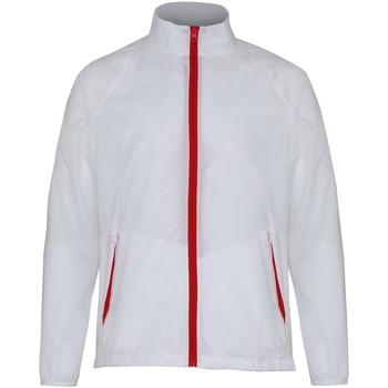 vaatteet Miehet Tuulitakit 2786  White/ Red