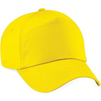 Asusteet / tarvikkeet Lippalakit Beechfield BC010 Yellow