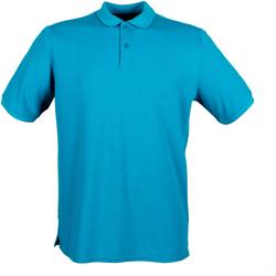 vaatteet Miehet Lyhythihainen poolopaita Henbury HB101 Sapphire