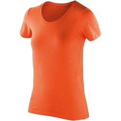 vaatteet Naiset Lyhythihainen t-paita Spiro SR280F Tangerine