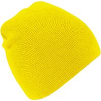 Asusteet / tarvikkeet Pipot Beechfield B44 Yellow