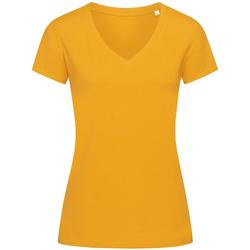 vaatteet Naiset Lyhythihainen t-paita Stedman Stars Janet Indian Yellow