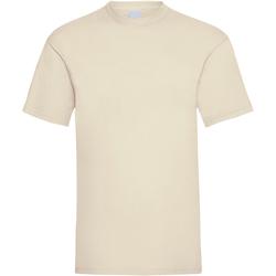 vaatteet Miehet Lyhythihainen t-paita Universal Textiles 61036 Beige