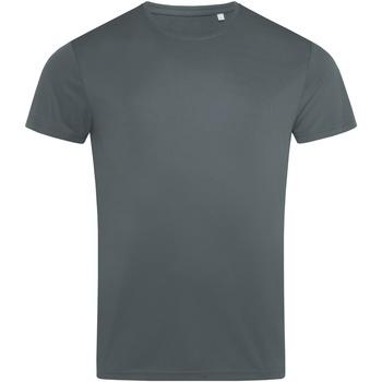 vaatteet Miehet Lyhythihainen t-paita Stedman  Granite Grey