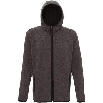 vaatteet Miehet Fleecet Tridri TR071 Charcoal/Black Fleck