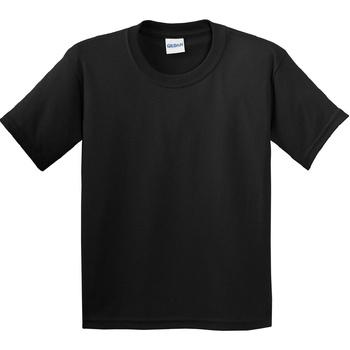 vaatteet Lapset Lyhythihainen t-paita Gildan 64000B Black