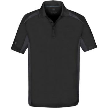 vaatteet Miehet Lyhythihainen poolopaita Stormtech ST955 Black/Graphite