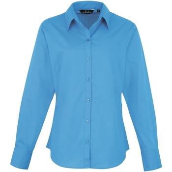 vaatteet Naiset Paitapusero / Kauluspaita Premier PR300 Sapphire