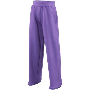 vaatteet Lapset Väljät housut / Haaremihousut Awdis  Purple