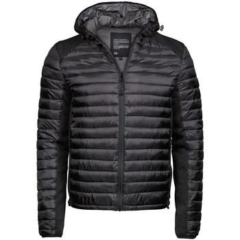 vaatteet Miehet Toppatakki Tee Jays TJ9610 Jet Black/Black Melange