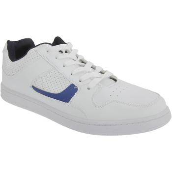 kengät Miehet Matalavartiset tennarit Dek Euston White/Navy Blue