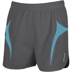 vaatteet Miehet Shortsit / Bermuda-shortsit Spiro S183X Grey/Aqua