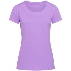 vaatteet Naiset Lyhythihainen t-paita Stedman Stars  Lavender Purple