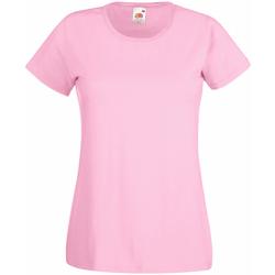 vaatteet Naiset Lyhythihainen t-paita Universal Textiles 61372 Pastel Pink
