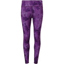 vaatteet Naiset Legginsit Tridri TR032 Camo Purple